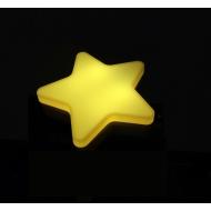Ночник светодиодный CADENA Звезда с датчиком освещенности, желтый, 40Z