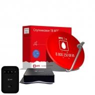 Полный комплект Спутникового ТВ МТС + 4G  модем/ Wi-Fi роутер