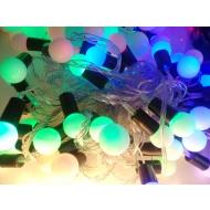 Гирлянда-шарики CADENA, 40LED, 6 метров, многоцветная, удлиняемая, 18062СN