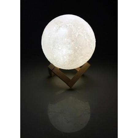 Ночник светодиодный CADENA Луна, 15см, 3 цвета, 3DMoon