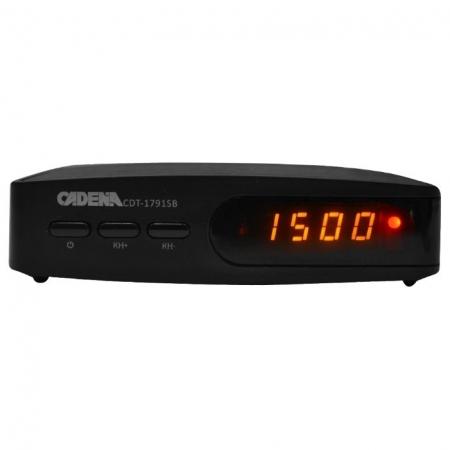 Цифровой эфирный приемник Cadena CDT-1791SB