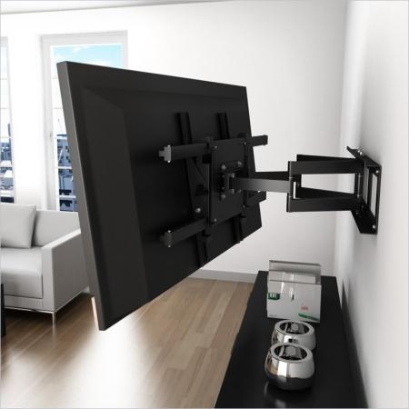 Сборка и подвес телевизора на стену.