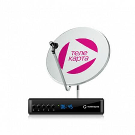 Полный HD-комплект c приемником EVO 09 HD и антенной Супрал 0,6м