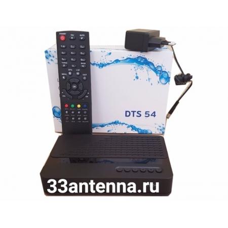 Цифровой спутниковый приемник Триколор ТВ DTS 54