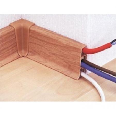 Укладка кабеля в плинтус в кабель канал