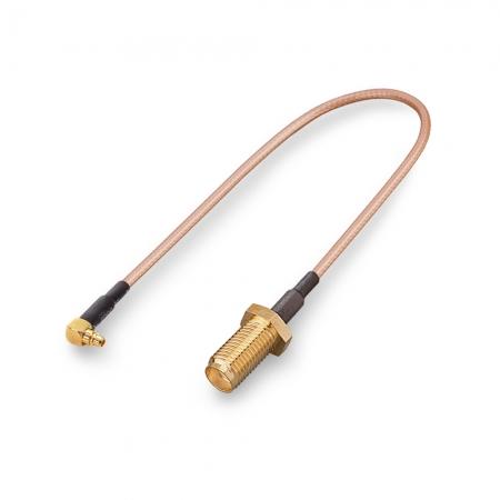 Антенные переходники (пигтейлы) SMA-FEMALE - CRC9 для 3G, 4G модемов